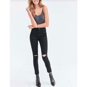 Urban Outfitters   BDG Black High Rise Jeans